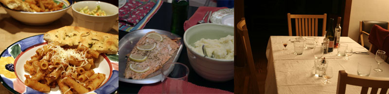 Dinners en famille